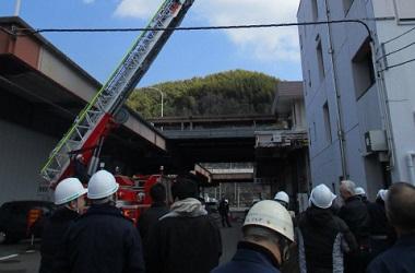 2月23日 防災訓練がありました。